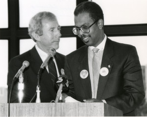1986 Award Ceremony at the University of Nevada, Las Vegas