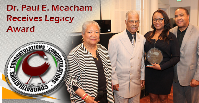 Dr. Paul E. Meacham Receives Legacy Award