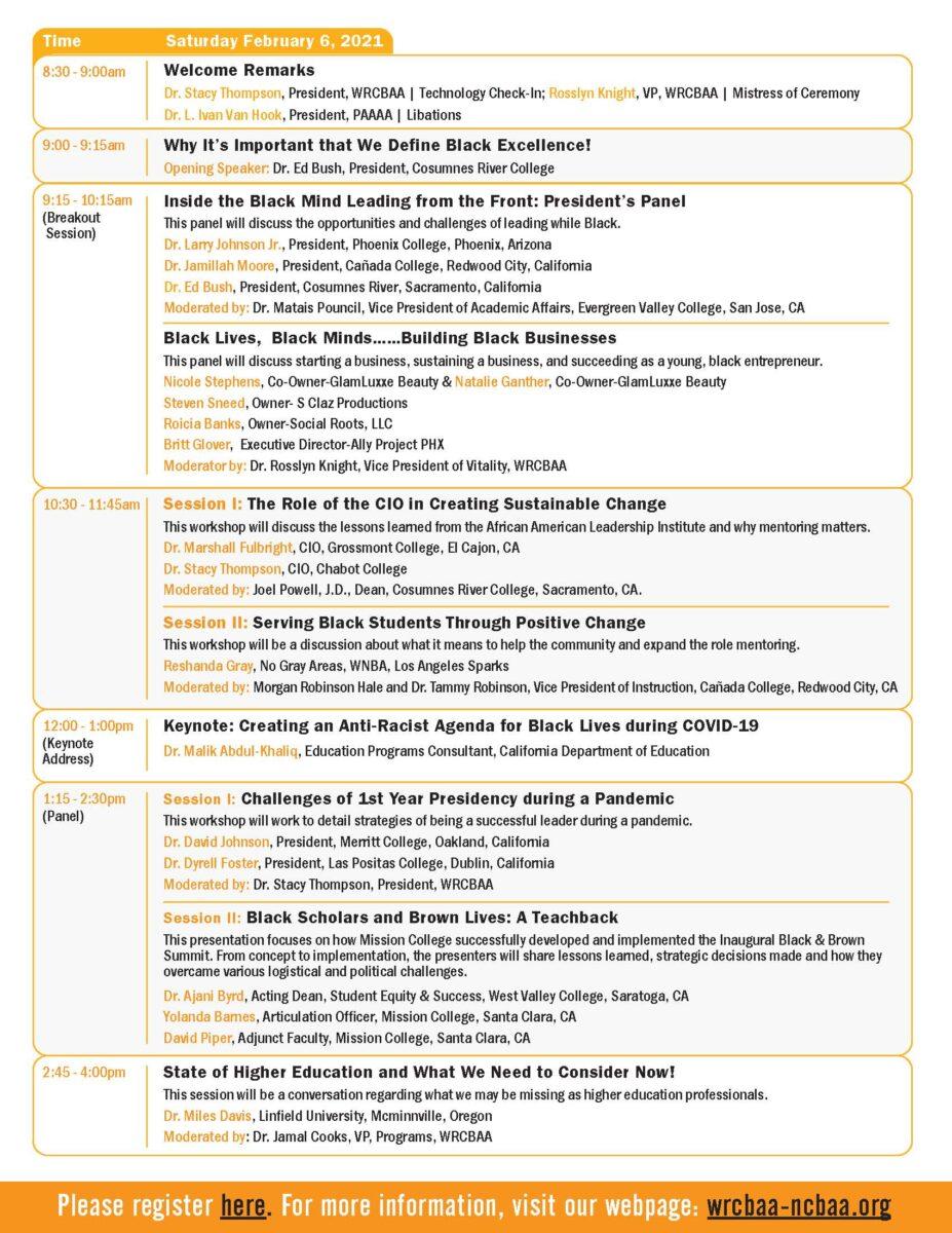 WRCBAA 2021 Spring Conference Program 2/6